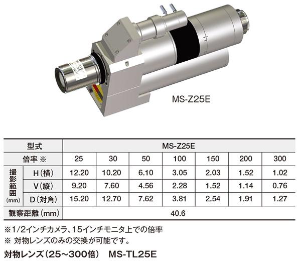 標準ズームレンズ(25~300倍/電動) MS-Z25E
